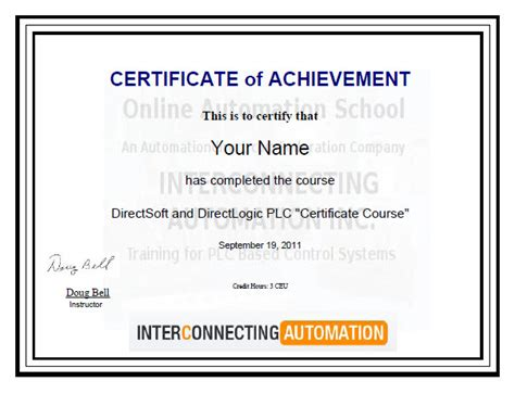 continuing education certificate template how to create a completion certificate ehow