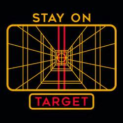 Best Color For Girls stay on target t shirt snorgtees