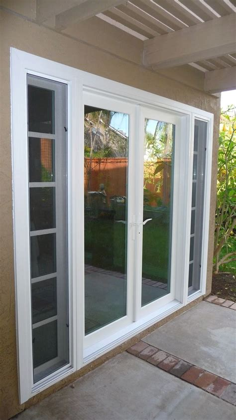 hinged patio doors with sidelights patio furniture
