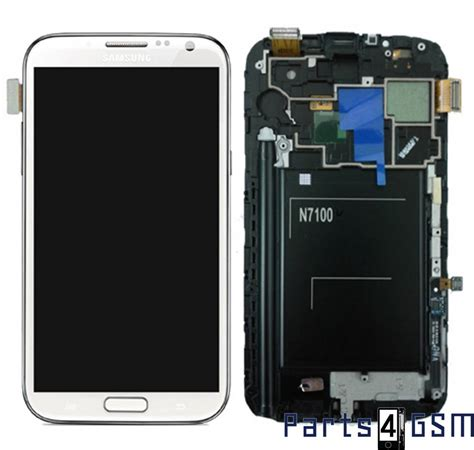 Lcd Galaxy 2 samsung galaxy note ii n7100 lcd display touchscreen