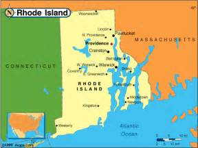 united states map rhode island rhode island counties road map usa