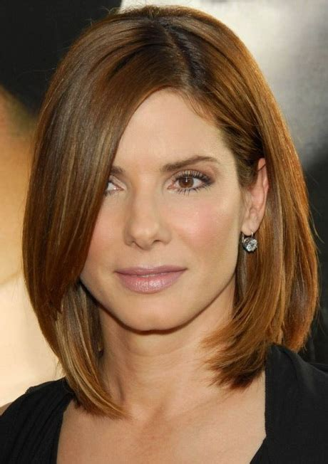 what is a good hair length for 47 year olds stacked bob medium length short hairstyle 2013