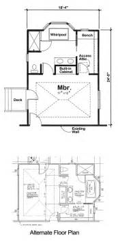 in addition plans project plan 90027 master bedroom addition for one and
