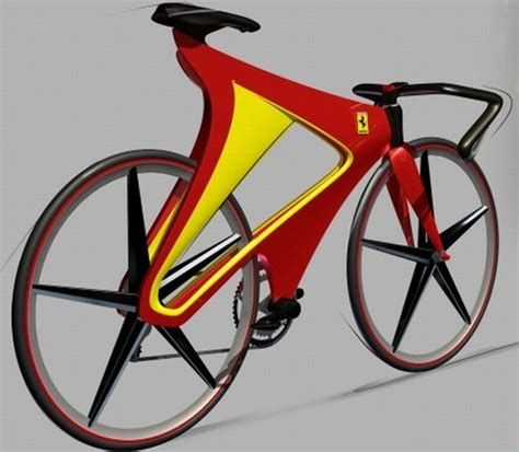 ferrari bicycle future transportation green ferrari two wheeler not a