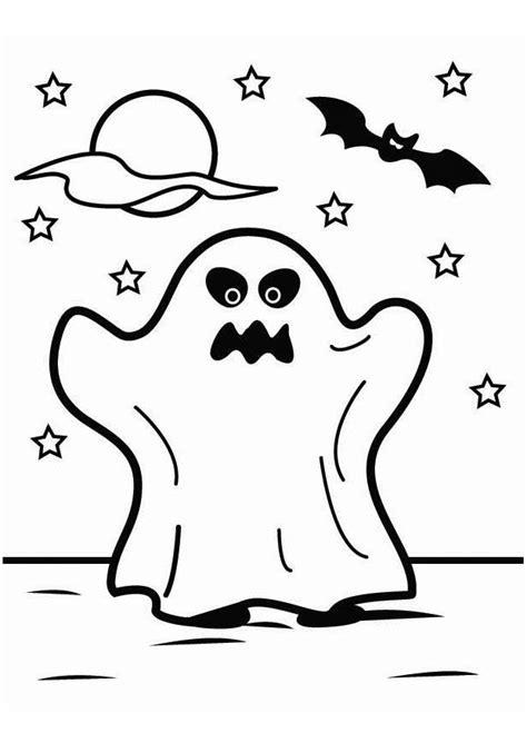imagenes de halloween para colorear dibujo para colorear fantasma de halloween img 26451