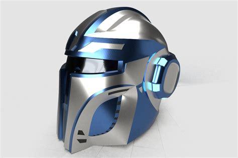 helmet design zbrush original mandalorian helmet on behance
