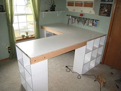 ikea desk with cubbies diy l shape desk with ikea like cubbies for the home