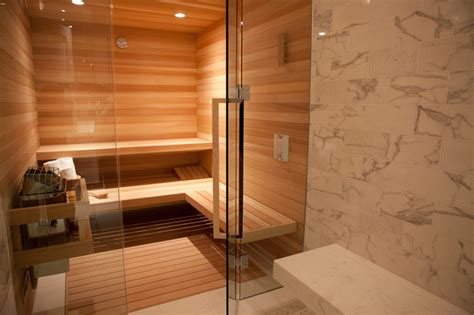 sauna bathroom steam room contemporary bathroom san francisco by