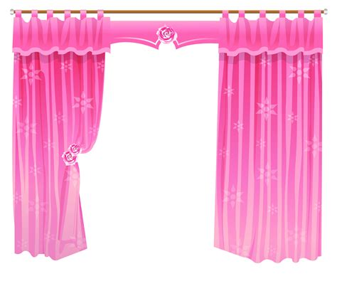transparent shower curtain with design curtains cliparts