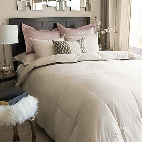 down comforter bed bath and beyond nikki chu isra white down comforter in clay bed bath