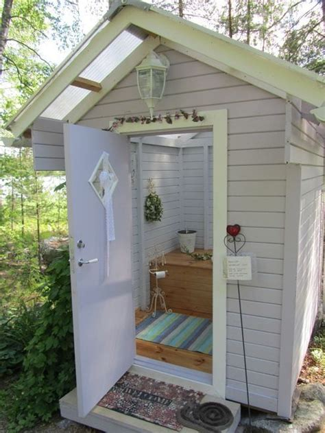 Outhouse Bathroom Ideas by Outside Toilet In Finland A Outhouse Indeed By