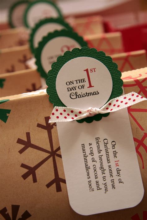 12 days of christmas gift tags it will change your studio 5 family gift exchanges