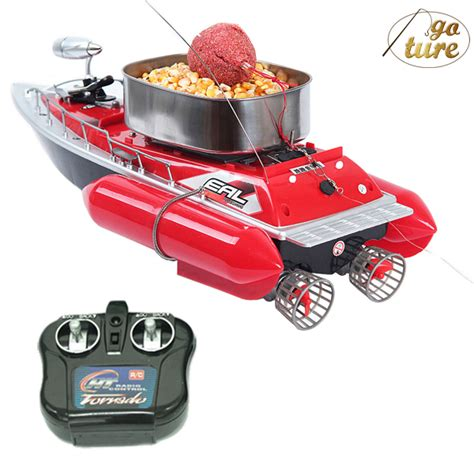 remote control fishing boat with fish finder free shipping mini rc bait fishing boat 200m remote