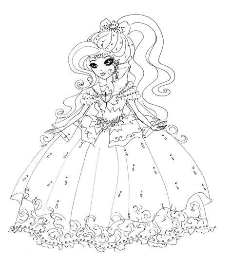 ever after high darling charming coloring pages desenho de darling charming de ever after high para