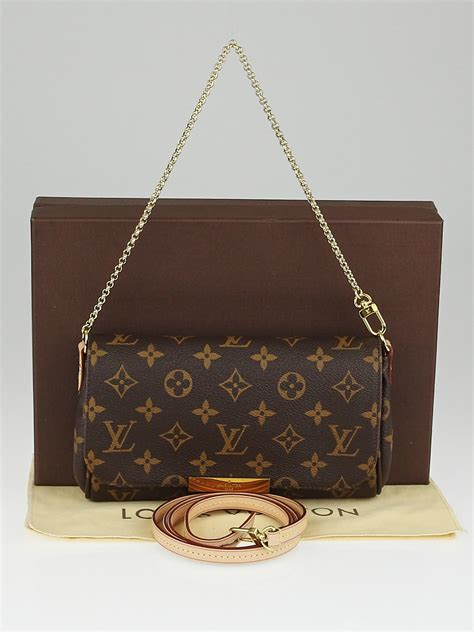 louis vuitton monogram canvas favorite mm bag yoogis closet