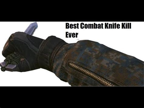 best fighting knives in the world black ops 2 best combat knife kill in leauge play