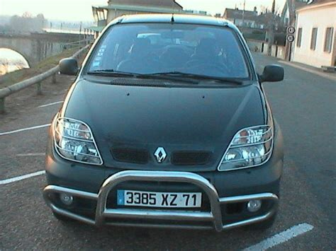 renault scenic 2005 tuning view of renault scenic 1 9 dci rx4 photos video