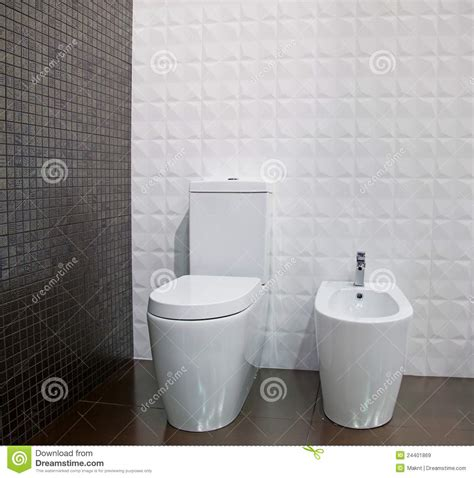 Bidet Shower The Toilet And Bidet Royalty Free Stock Images Image