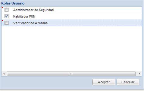 consulta de afiliados portal del usuario home portal sbs 191 c 243 mo asignar roles y centros de gesti 243 n a un usuario