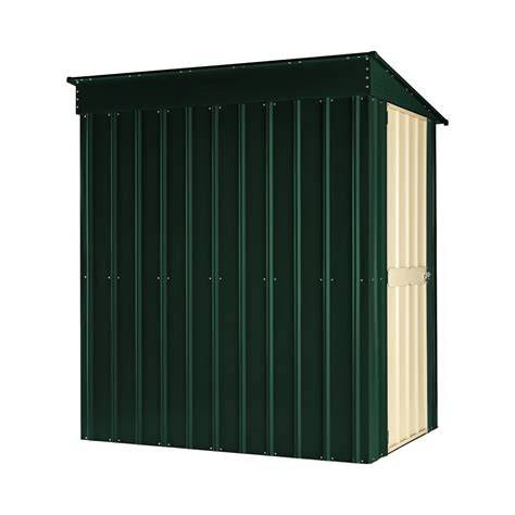Lean To Metal Shed by Metal Garden Shed 8 X 5ft Pent Lean To Homegenies