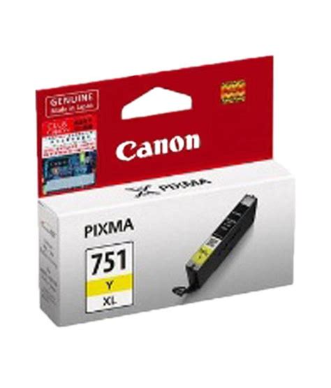 Canon Cartridge Cl 751 Yellow canon cli751 y xl ink cartridge yellow buy canon cli751 y xl ink cartridge yellow