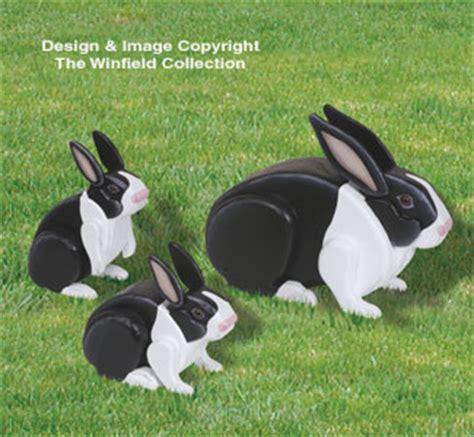 animal project patterns  life size rabbits
