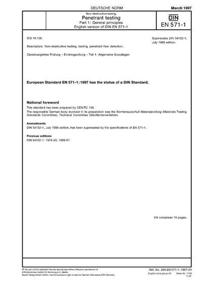 DIN EN 571-1 PDF