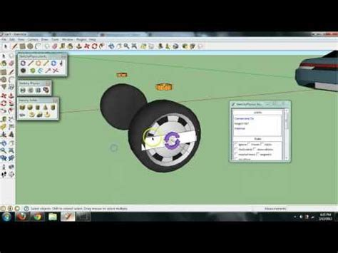 google sketchup car tutorial sketchup sketchyphysics car tutorial doovi