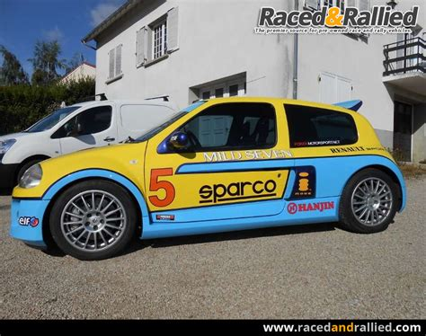 renault clio v6 rally renault clio v6 rally cars for sale at raced rallied
