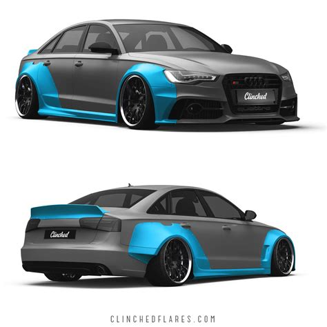 C7 Audi by Audi A6 C7 Widebody Kit S6 Rs6 C7 Wide Kit By Clinched