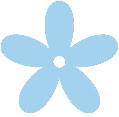 blue clip blue flower clip clipart best