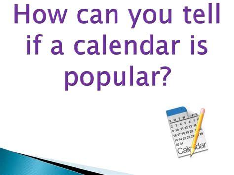 Calendar Jokes Jokes