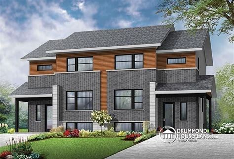 home design for joint family contemporary 4 unit apartment house plan multi family