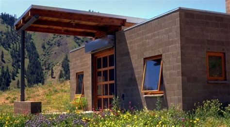 concrete block house 450 sq ft concrete block tiny home