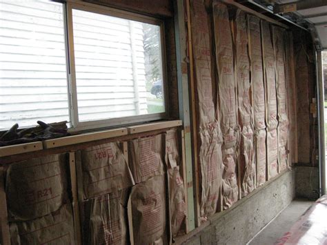 How To Insulate An Attached Garage by Image Gallery Insulating A Garage Wall