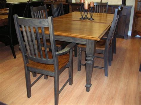 kitchen and dining furniture oak table solid oak table and chairs oak kitchen table