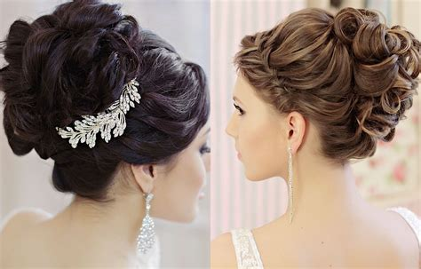 Hairstyle Wedding by Updos And More Beautiful Wedding Hairstyles