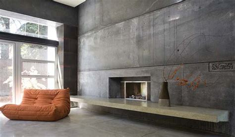 decorating cement walls 23 glamorous interior designs with concrete walls