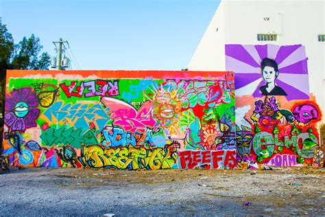 Tupac Wall Mural screening quot streets of wynwood quot a production of wlrn