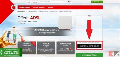 Casa Adsl by Offerte Adsl Casa Cheap Vodafone Adsl Per Oggi