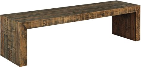 sommerford brown large dining bench   ashley