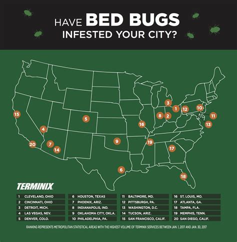 california bed bug law infestation terminix says atlanta bedbug problem among