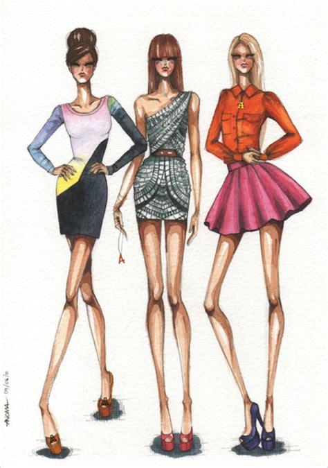 fashion illustration model model fashion illustration pencil and in color