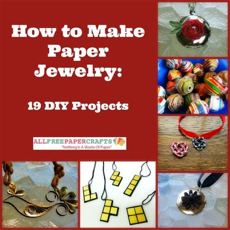 How To Make Jewelry Out Of Paper - how to make paper out of cereal boxes