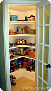 Corner Kitchen Pantry Ideas by A Corner Pantry Made From Scratch Corner Pantry Pantry