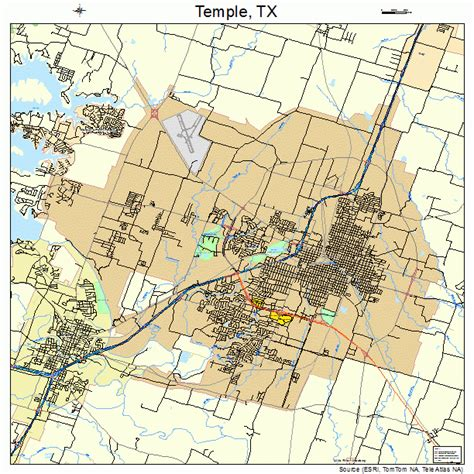 map temple texas temple texas map 4872176