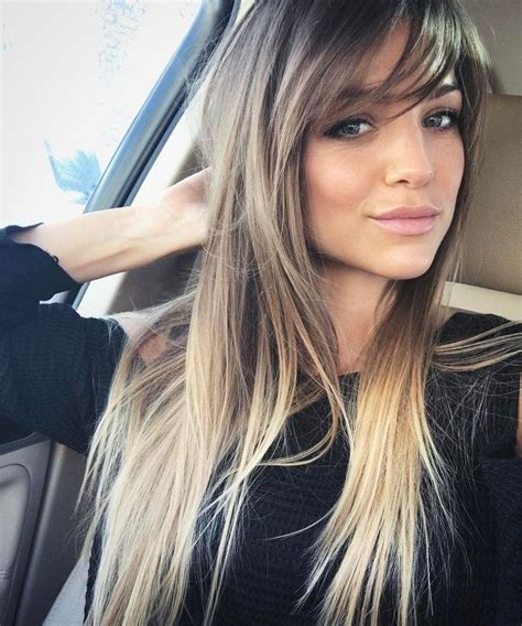 long hair styles with swoop bangs black hair 20 photo of long hairstyles with side fringe
