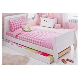 White Single Sleigh Bed Sleigh Single Bed Frame With Storage From Homebase Co Uk Homebase Argos Fit For A