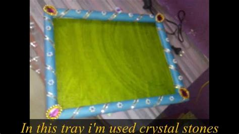Handmade Saree Packing Trays - made saree packing tray in just 1 minute