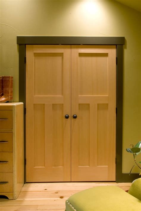 craftsman closet doors interior elements of craftsman style house plans